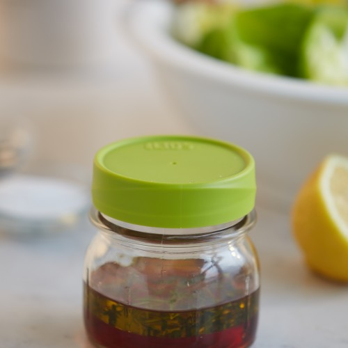 Mason Jar Lid -Regular Mouth Green