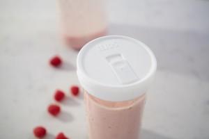 Mason Jar Drink Lid – Wide – White