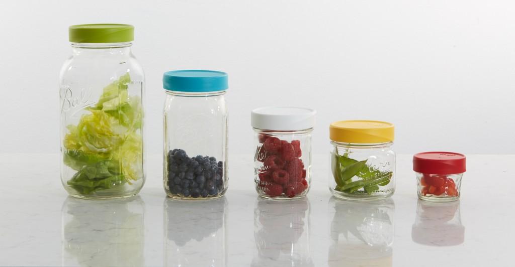 Mason Jar Lids Plastic Colorful